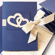 Love Hearts Wedding Invitation